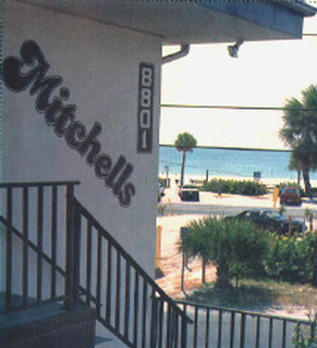 Picture - View of Gulf of Mexico from Mitchell's Sunset Apartments